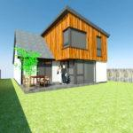 house extension rendering